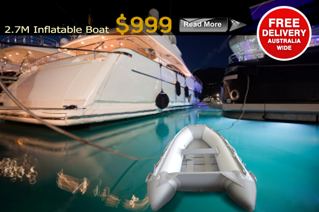RRP $1999 $1999                                                                      Length 2.7M Boat Floor Aluminium Internal Floor Material 1100 Denier PVC Transom Heavy Duty Reinforced Keel Inflatable Keel Seams 4 Layer Reinforced PVC Max HP...