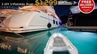Length 3.6M Boat Floor Aluminium Internal Floor Material Marine PVC 1100 Denier Transom Heavy Duty Marine Keel Inflatable Keel Seams 4 Layer Reinforced PVC...