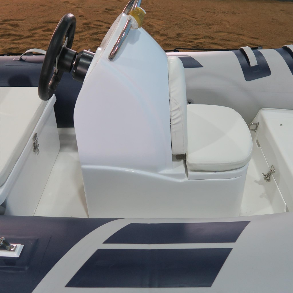 3 6m Inflatable Rib Boat Center Console Rigid Fiberglass